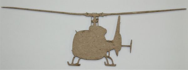 Helicopter 2 Chipboard