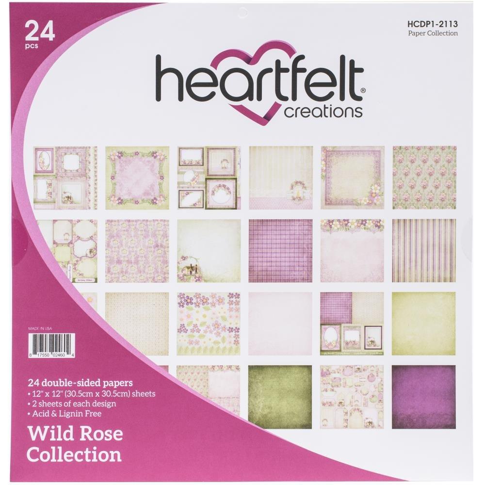 Wild Rose Paper Pad 12x12