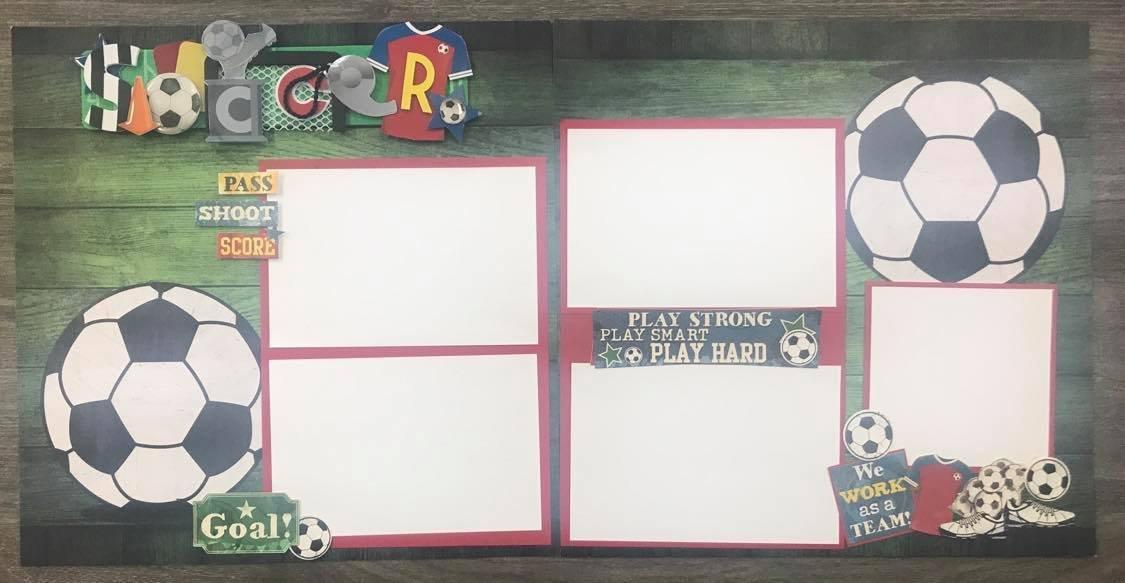 Scrapbook Kit - Soccer