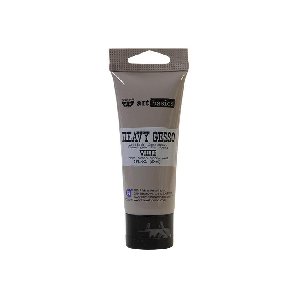 Finnabair Art Basics Heavy Gesso 2oz-White