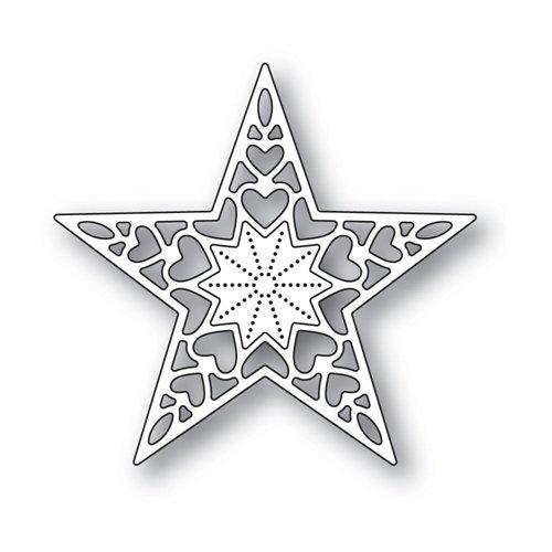 Holiday Heart Star Die