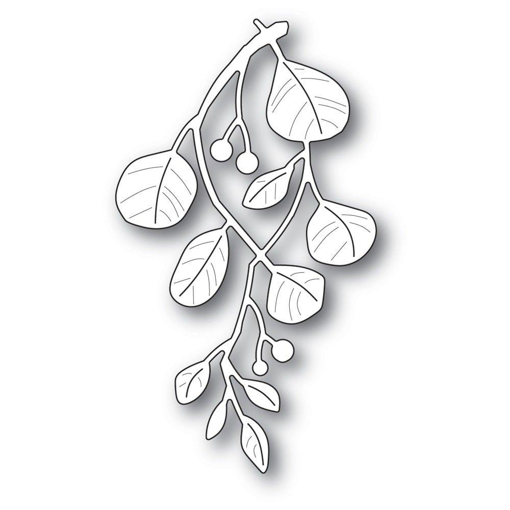Holiday Mistletoe Die
