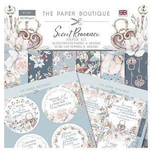 Secret Romance Paper Kit 8 X 8