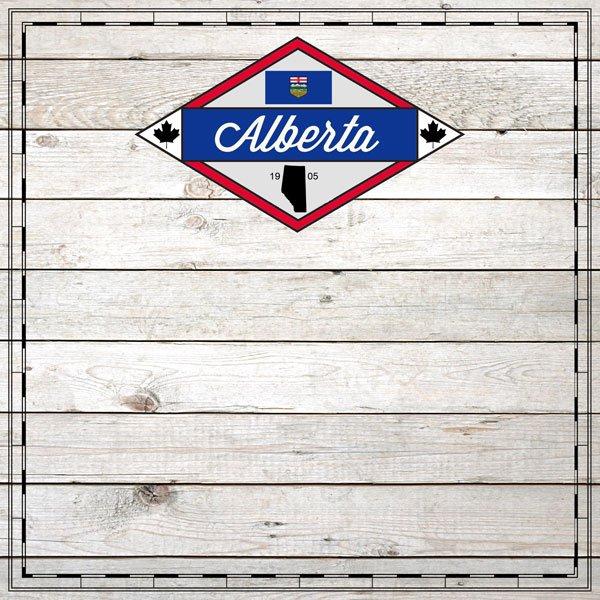 Alberta Wood Sightseeing Paper