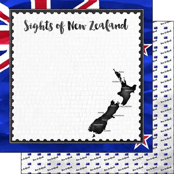 New Zealand Flag Sights Paper