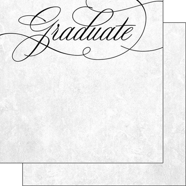 Fancy Cursive Graduate Paper