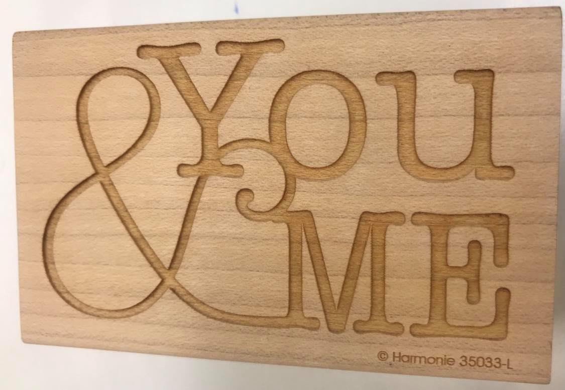 You & Me Stamp