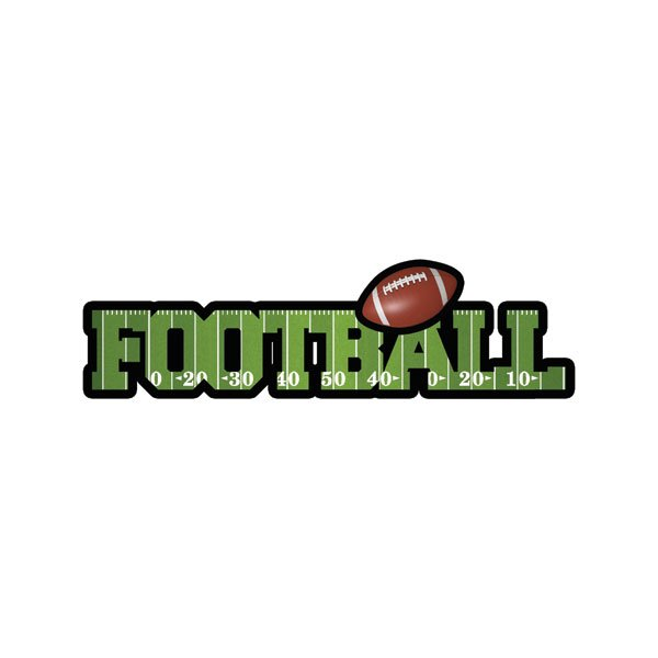 Football Dimensional Word Title