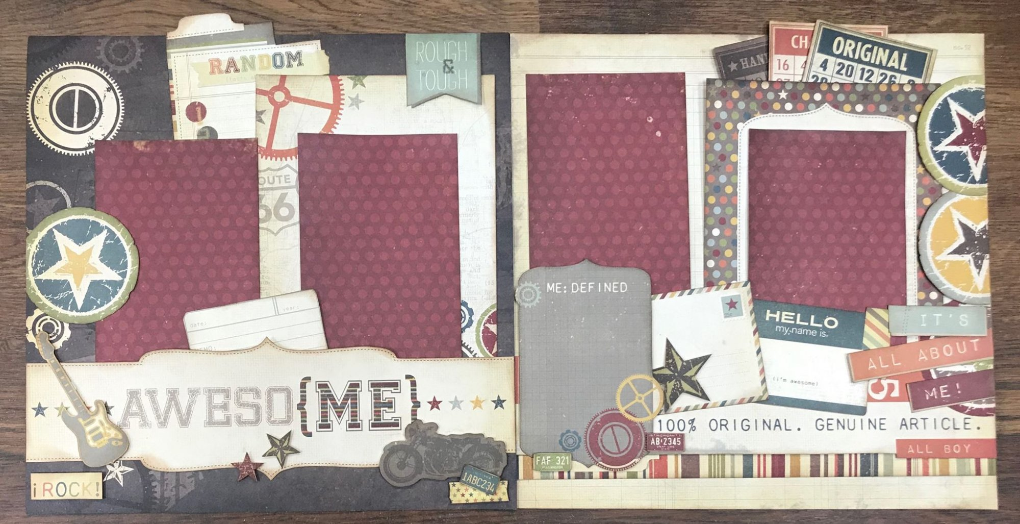 Scrapbook Kit - Awesome