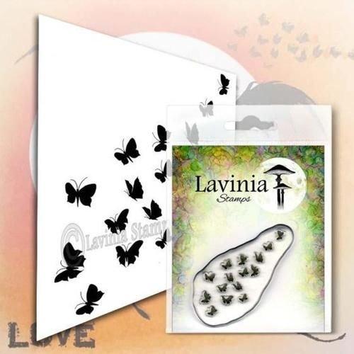 Flutterbies Stamp