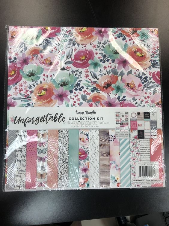 Unforgettable Collection Kit 12 X 12