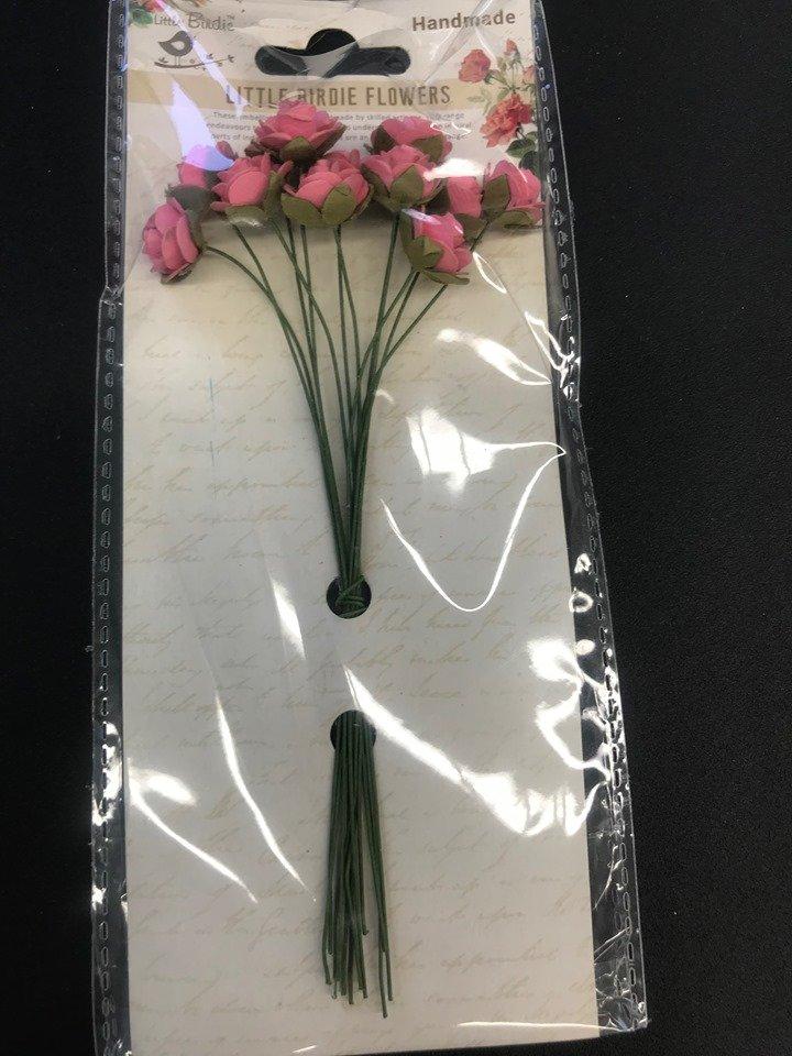 Helena Pink Flowers