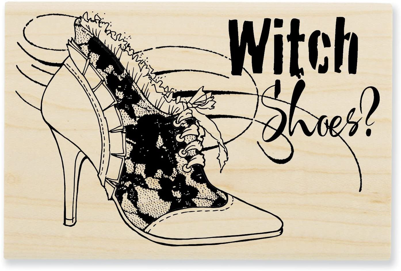 Witch Shoes Stamp
