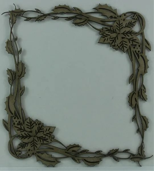 Christmas Frame Chipboard