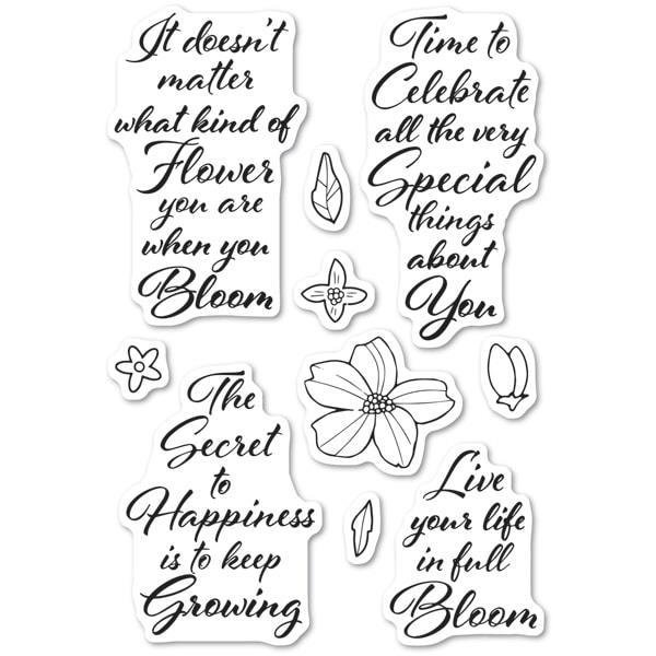 Blooming Greetings Stamp Set