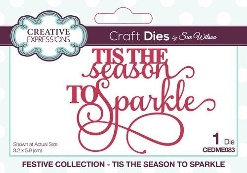 Festive Collection Tis The Season To Sparkle Die