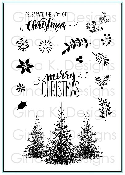 Christmas Greenery Stamp Set