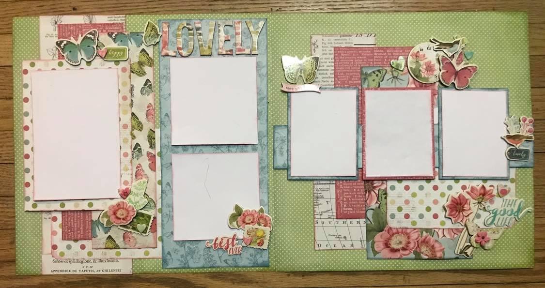 Scrapbook Kit - Lovely