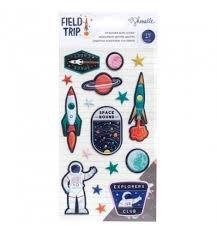 Field Trip Puffy Stickers