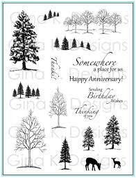 The Northwoods Stamp Set