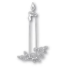 Gilded Taper Candle Die