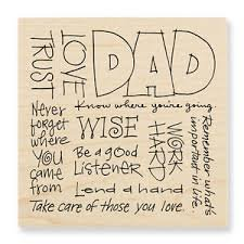 Dad Words Stamp