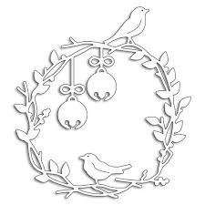 Birds On A Wreath Die Set