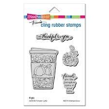 Pumpkin Latte Stamp Set