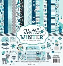 Hello Winter Collection Kit 12 X 12