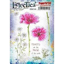 Eclectica Kay Carley EKC48 Stamp Set