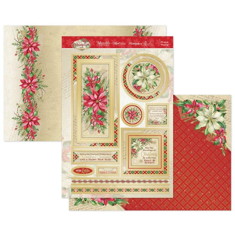 Luxury Topper Set Christmas Blessings
