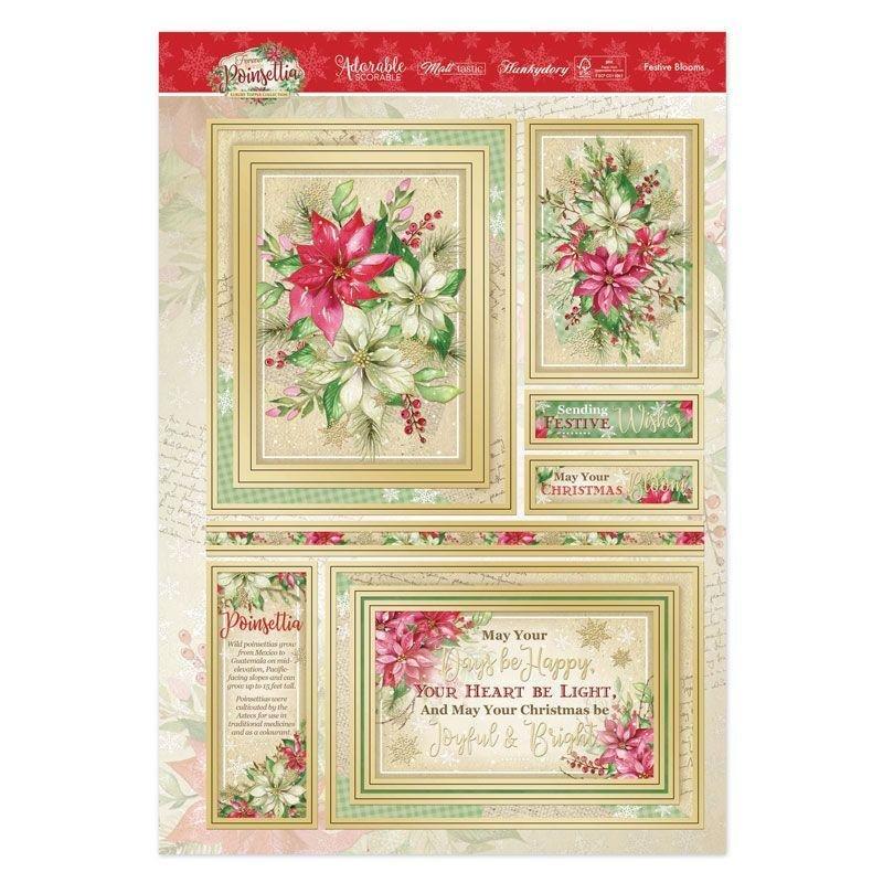 Luxury Topper Set Festive Blooms
