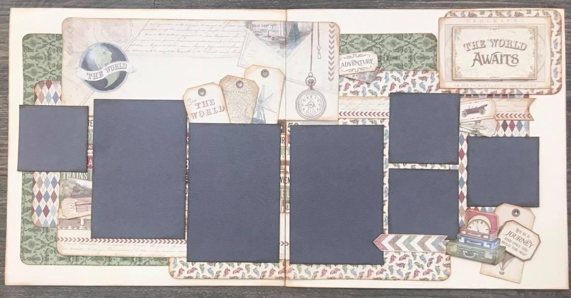 Scrapbook Kit - The World Awaits