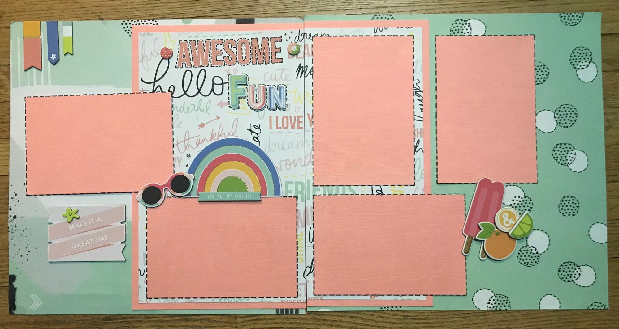 Scrapbook Kit - Awesome Fun