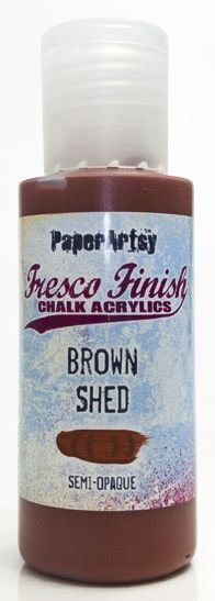 Fresco Finish Brown Shed