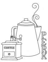 Coffee Perk Stamp