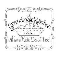 Grandmas Kitchen Stamp