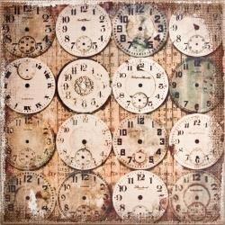 Burlap Panel Watchmaker