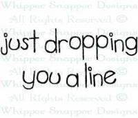 Dropping You A Line Stamp