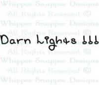 Darn Lights Stamp