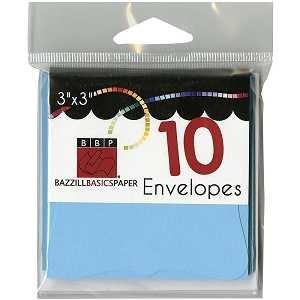 Cards & Envelopes Vibrant Blue Bracket