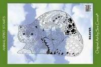 Animal Spirit Beaver Stamp