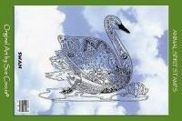 Animal Spirit Swan Stamp