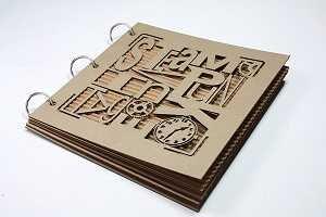 Typography Vintage Steampunk Album