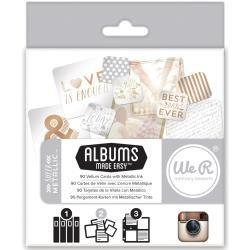 Albums Made Easy Sheer Metallic Journaling Cards