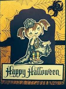 Copic Card Kit Happy Halloween Kiddo