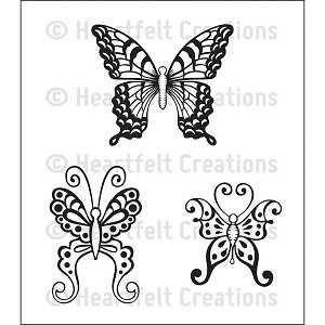 Botanical Wings Stamp Set