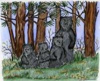 Bear Family Stamp