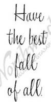 Have The Best Fall Stamp