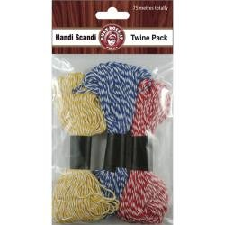 Twine Pack Red/Blue/Yellow